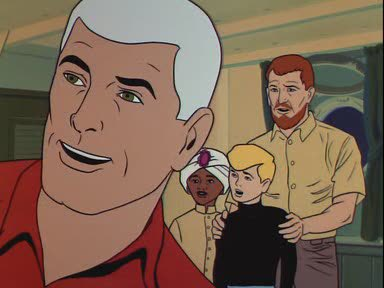 """Ok, is it me, or does @mike_pence look like """"Race"""" Bannon on Johnny Quest?! #VPDebate https://t.co/kuUYXNq73J"""