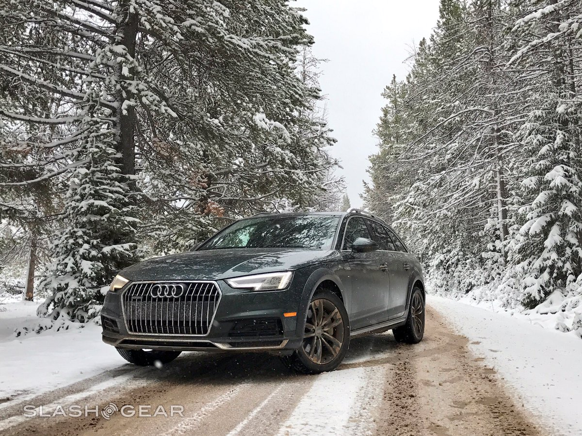 Wyoming is cold, but the new @Audi A4 allroad is hot https://t.co/g8NirXDOia