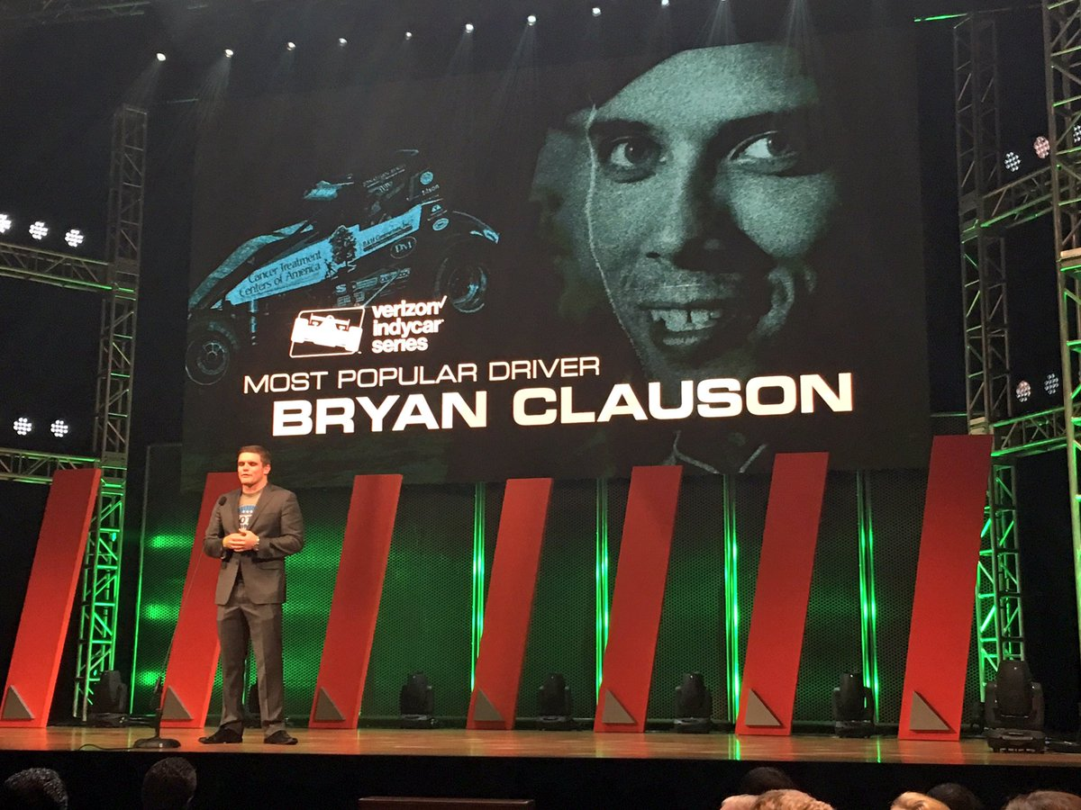 Bryan Clauson is the 2016 @Verizon #IndyCar Series Most Popular Driver. https://t.co/qf4ybjVHuo