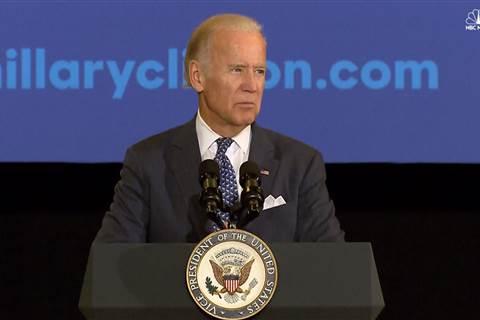 Joe Biden has some advice for both VP candidates