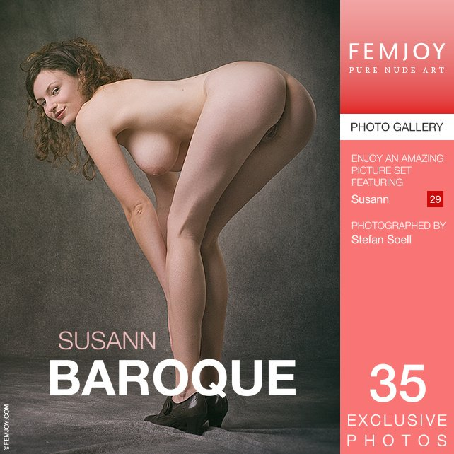 1 pic. #FemjoyFlashback Feat Susan from Germany in her bold classic & artistic shots. BAROQUE by Stefan
