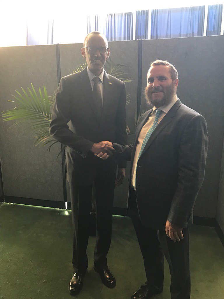 My friend President @PaulKagame of Rwanda is the only living person to have stopped a genocide. https://t.co/zCzyDm8uiT