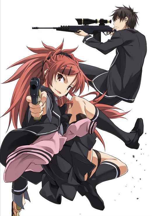 クオリディア・コードBD&DVD第3巻は2016年11月23日(水)発売!本日イラストを公開!3巻は千葉陣営です!ふたり
