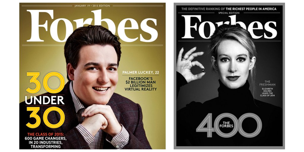 Forbes Lists, the Madden Curse of tech?