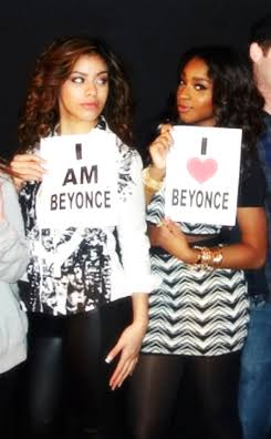 #NormaniMeetsBeyonce: Normani Meets Beyonce