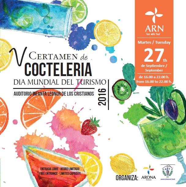 V Certamen de Coctelería 2016 - Día Mundial del Turismo #Arona https://t.co/YH01oQZtbb https://t.co/uPmR3U9qKL