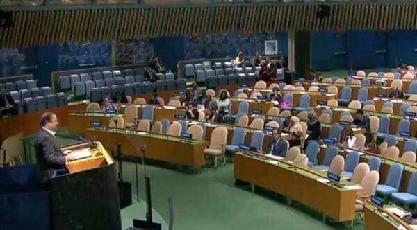 Much importance UN gave to Pakistan. This these empty chairs are showing https://t.co/lieQioz9XE