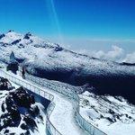 RT @AndesVenezuela Vista picos Humboldt y Bonpland, última estación Teleférico de #Mérida 📸: Antonio Guilllén J. https://t.co/4wQ2Gccaha