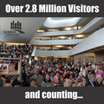 Will you be our 3 millionth visitor? Celebrate City Centre Library's 5th anniversary! Oct 1 from 11-3 #CCTurns5 https://t.co/09pBDeei9F