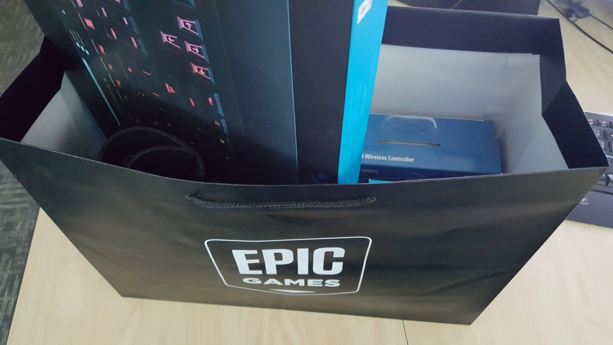 Getting the swag bags ready for our next @Paragon community members visiting @EpicGames! https://t.co/Ayx9tIbCQe