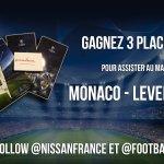Tentez de gagner 1x3 places VIP pour :  MONACO - LEVERKUSEN   ➡️ RT + Follow @nissanfrance et @Footballogue https://t.co/BGPgjkjdlc