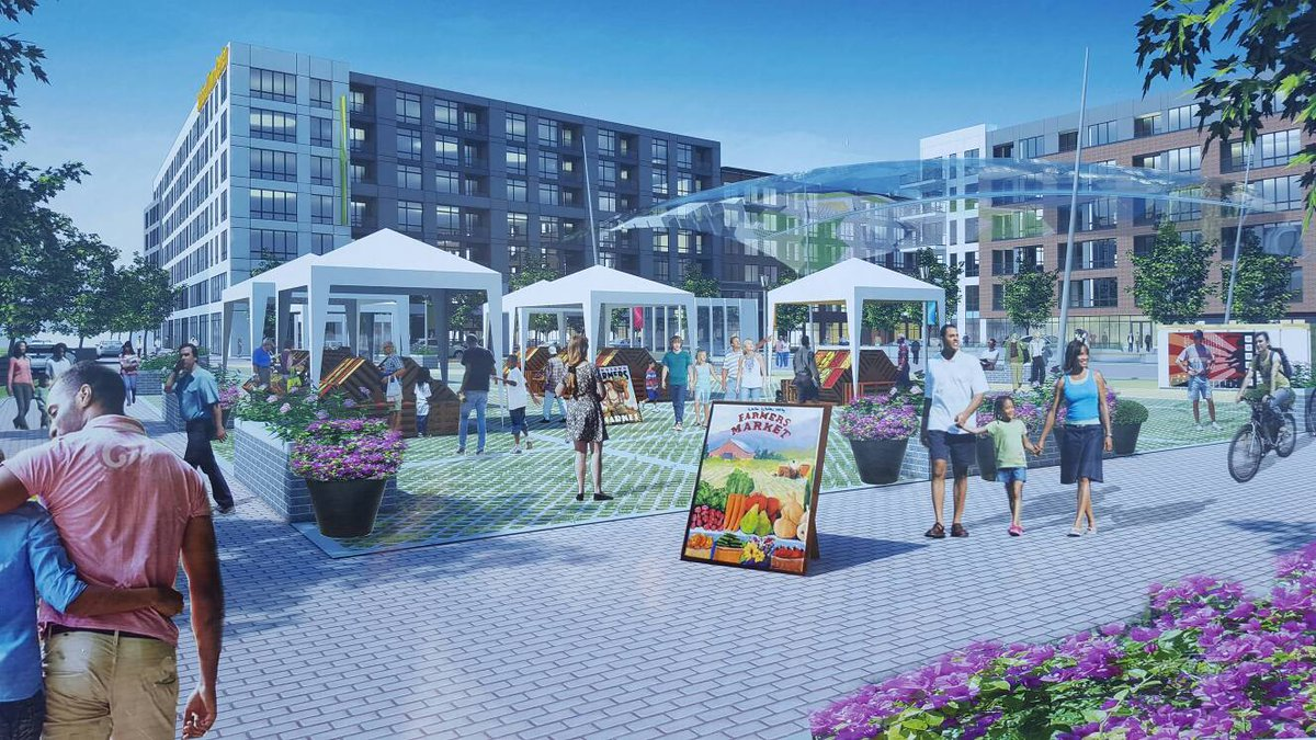 Prince George's Co. unveils plans for the Town Square at Suitland Federal Center. https://t.co/4pzg8JJV1c