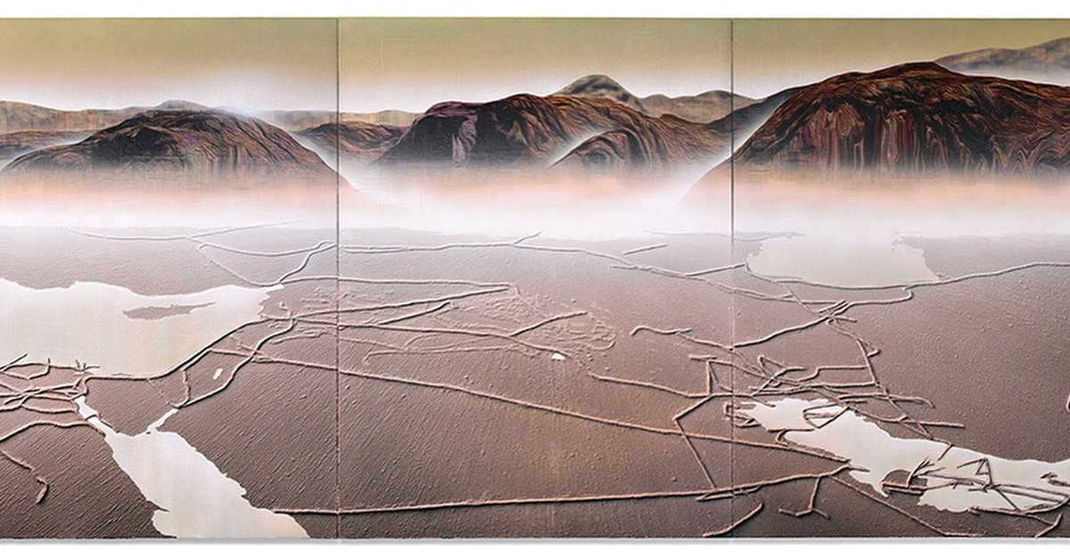 1/2 زوروا معرض ليلى هلر جاليري، والذي يعرض مجموعة من اللوحات للفنان غوردون تشيونغ، https://t.co/DmdVV69pT1