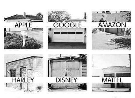 Famous brands and where they started. #startup #entrepreneur https://t.co/3MoKYpy3JE