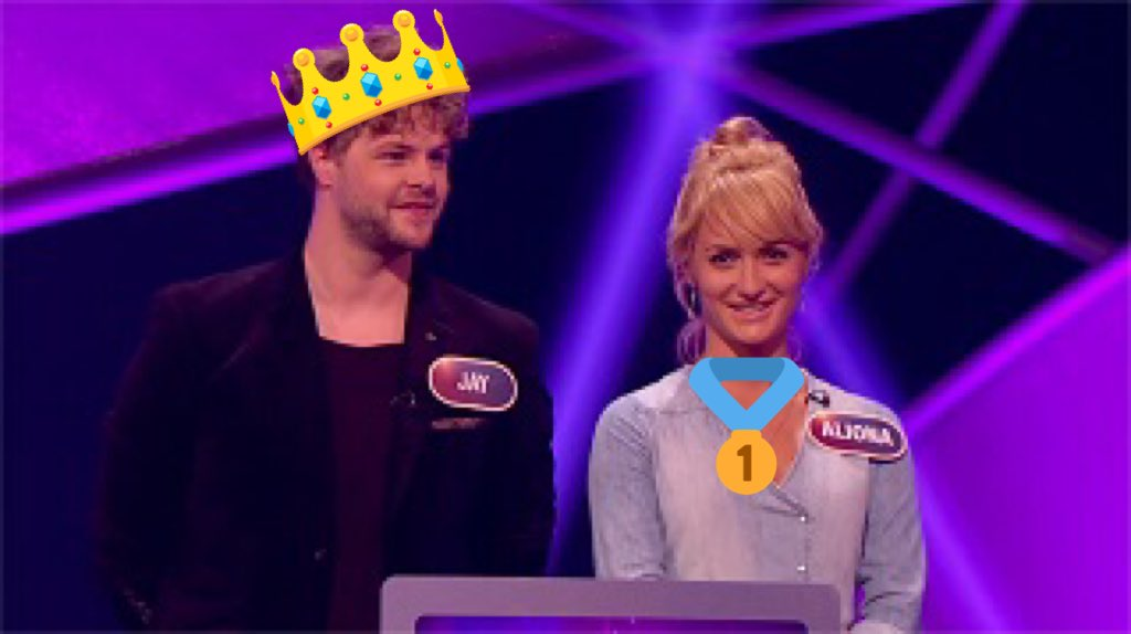 Current glitterball champions @AlionaVilani & @JayMcGuiness take on the #PointlessCelebrities #Strictly special https://t.co/JP4naVRctn