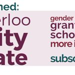 Hey #UWaterloo grads, a campus-wide Gender and Equity Newsletter has been launched! For more info and to subscribe: https://t.co/kf8WgV0S48 https://t.co/tNewzJtgih