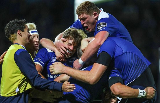 It's all over at the RDS. What a performance from every player on the @leinsterrugby team!#LEIvOSP https://t.co/QD8IphbwNG