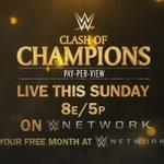 Ill be keeping an eye on #RAWs #WWEClash of Champions on @WWENetwork. https://t.co/BLZNstMGIN https://t.co/biOnEF7EwA