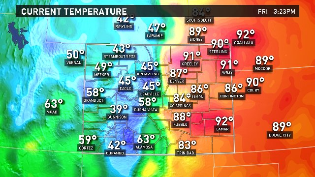 A state divided... by temperature. Gotta love down sloping winds! #9wx https://t.co/U2KSPoG3sS