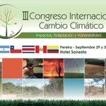 """Se acerca el """"III Congreso Internacional Cambio Climático"""". --> https://t.co/uBwN1ib5B4 https://t.co/qEfpemvP2F"""