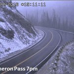 Cameron Pass with that nice left bend. Fall in CO has arrived. #COwx https://t.co/e4zIpugeQ9