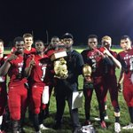 The Hawks take home the SR/RPB rivalry trophy. Final Score - Seminole Ridge 30, Royal Palm Beach 14 https://t.co/pPu2tKjHF7
