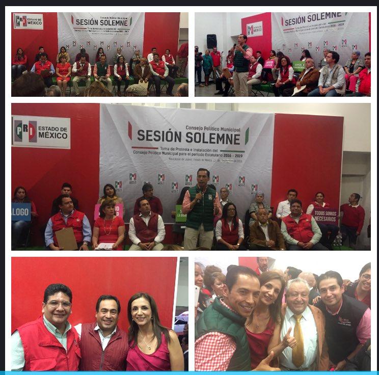 Presente en el #ConsejoPolítico #FuerzaNaucalpense @NaucalpanPRI @carlosiriarte_ @eruviel_avila @DipPRIedomex https://t.co/8Nl3i2ajzX