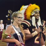 Our Homecoming Chief @AJBRAVES_2 & our Homecoming Princess @PeytonMarsh https://t.co/s1XzHuptee