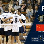 Zhejiang takes the fourth set, and the Eaters fall 3-1.  Thanks to everyone who came out tonight! #TogetherWeZot https://t.co/u4K6fQRfZd