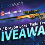 We have new giveaway with @nickbunyun. RT and Win Dragon Lore FT! https://t.co/norHIDyvN2 https://t.co/dYLgcW2BKh