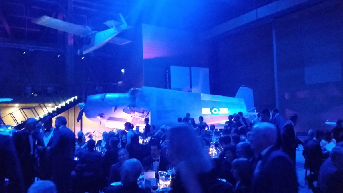 RNZAF 5SQN 75th anniversary dinner @MOTAT_NZ - not a bad spot for a formal dining event :) https://t.co/oEcybByCDB