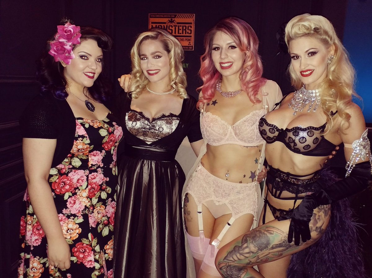 Such a fun night at @Radiant_Inc Magazine #pinup party