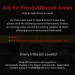 SPREAD THE WORD... #HyderabadRains #HelpHyderabad https://t.co/Z7vacLOS9n