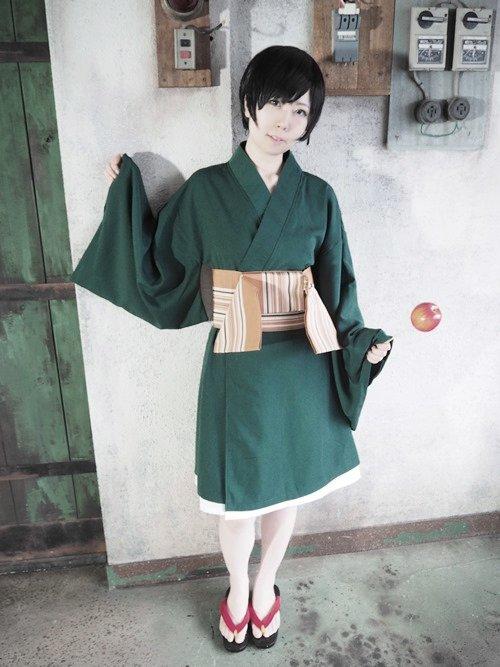 〇シドニアの騎士〇科戸瀬イザナ:tomoru/重力祭photo・長道: ずっと出したかった浴衣衣装出せてうれしすぎる