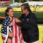 Congratulations to our womans marathon winner Becki Spellman! #runAkron https://t.co/PPXhs0aJQ0 https://t.co/XNWkCyT5oQ