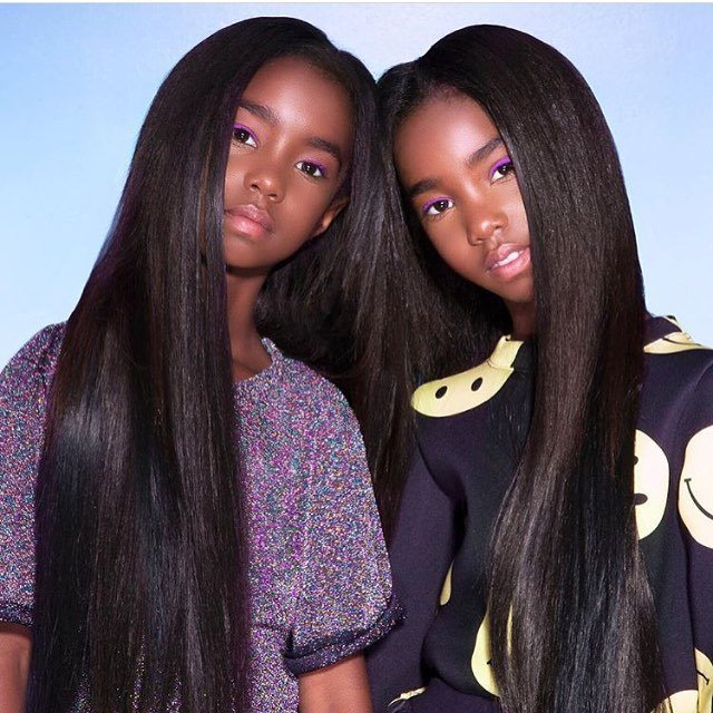Can we talk about the #Combs twins and their flawless modeling skills?! And this hair...
