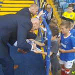 #Pompey players and the manager have been meeting fans in the @PompeyNelson Family Zone https://t.co/T9X2nXUX08