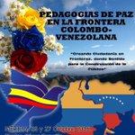 Seminario Bianual Pedagogías de Paz en la Frontera Colombo Venezolana #ULA #Mérida 26 y 27 de octubre 2016 https://t.co/R3f5GO1YU2
