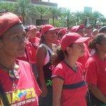 #Bolívar Frente de mujeres milicianas de @UnaMujerVzla son juramentadas en P/Monumento @rangelgomez @NidiaDeRangel https://t.co/GB8DQ5M2vc