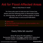 Time we join our hands! #HyderabadRains https://t.co/VYXtABumVD