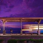 黄昏時の夢列車。 飛び乗れば夢の続きが見られそう。 (昨日、愛媛県伊予市にて撮影) 今日もお疲れさまでした。明日もおだやかな1日になりますように。 https://t.co/nPjKjOuO18