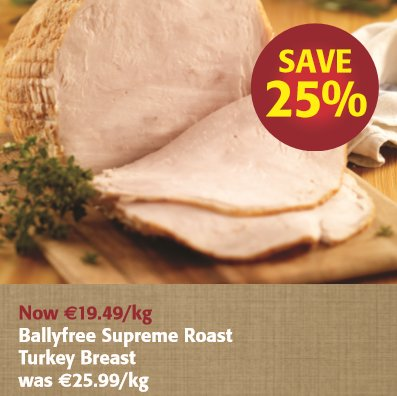 Ballyfree Supreme Roast Turkey Breast https://t.co/CwjqxUQSUb