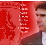 Three changes. https://t.co/h4tIT0SBqJ #Boro #THFC https://t.co/Dviat2HZwI