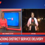 Tracking Service Delivery: @joycebagala1 is live from Mityana, one of Ugandas newest municipalities #LiveAt9 https://t.co/4G75j70hQa