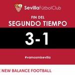 Final del partido en San Mamés. @AthleticClub 3-1 #SevillaFC #vamosmisevilla https://t.co/kUBLdOgkeK