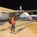 Sicher in München gelandet und 3 Punkte im Gepäck. 👜 #MiaSanMia #FCBayern #MiaSanMia https://t.co/7IUYJMdL6o