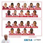 Náutico definido para o jogo contra o Paraná #VoltandoPraCasa #CNCTR https://t.co/HFAlQTLDfq