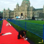 Laying out the red carpet!! Only hours away! @GlobalBC is here! https://t.co/Jll4CDHWNj