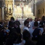 Todo a punto para la salida de la Virgen de la Paz. #CoronacionPazSevilla @HermandadPaz @fjmonrod https://t.co/Eg0Xk6Phg8