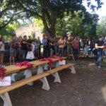 Zonnig openingsfeest van Majella wonen, prachtige vorm van samenwonen van ex-daklozen en betrokken buren https://t.co/lKIXk8DUTo